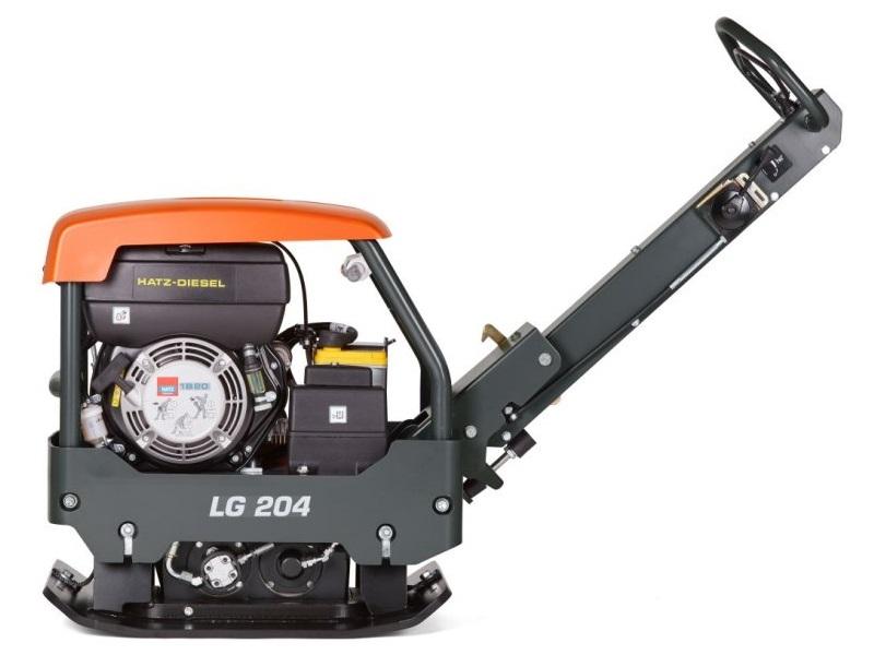 Виброплита бензиновая HUSQVARNA LG 204 211кг