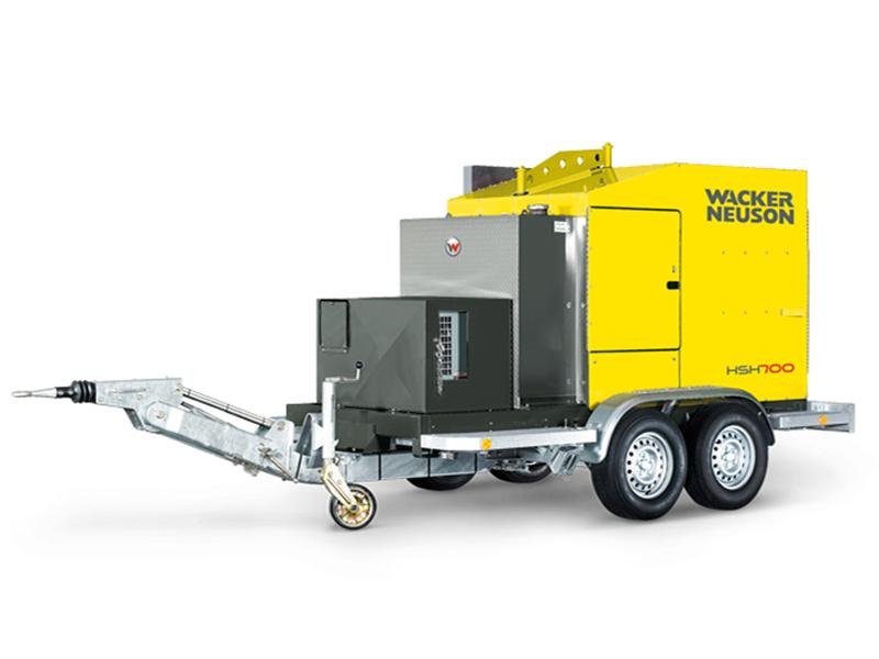 Установка для прогрева грунта и бетона Wacker Neuson HSH 700 G